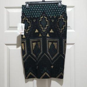 LuLaRoe Skirts - LuLaRoe STUNNING Elegant Aztec Tribal Cassie